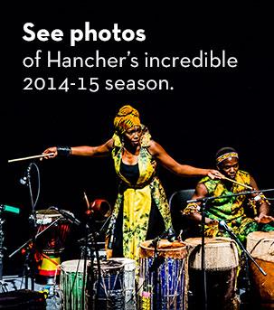 See photos  of Hancher's incredible 2014-15 season