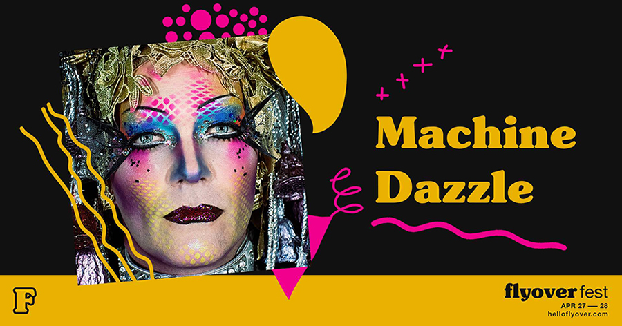 A Dazzled Life flyer image