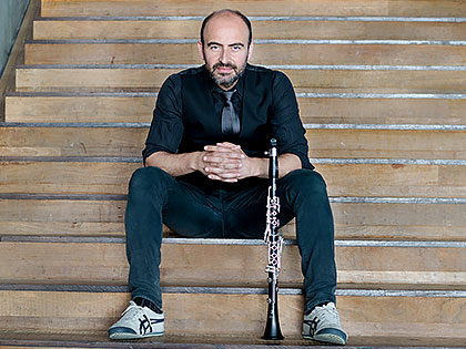 Kinan Azmeh (Photo: Martina Novak)