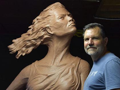 Sculptor David Zahn