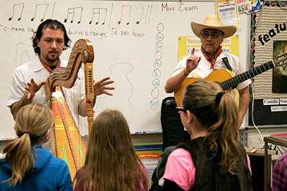 Sones de Mexico at West Liberty Elementary School