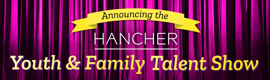 Announcing the Hancher Youth & Family Talent Show