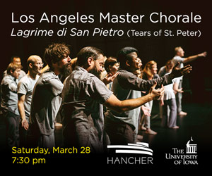 Los Angeles Master Chorale, Lagrime di San Pietro (Tears of St. Peter)