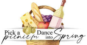 Pick a Picnic for Dance into Spring