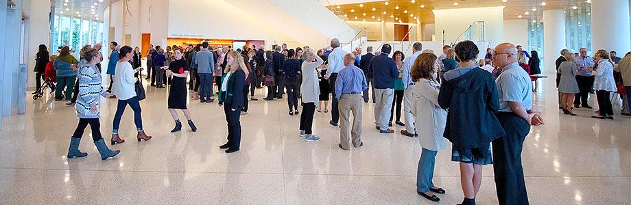 Smith Lobby, Hancher Auditorium (Photo: Justin Torner/University of Iowa)