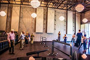 An open dance rehearsal in Strauss Hall (Photo: Miriam Alarcon Avila)