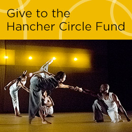 Give to the Hancher Circle Fund