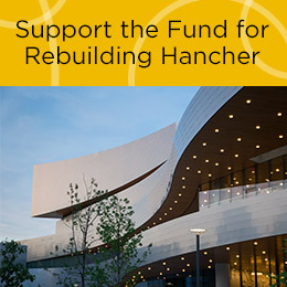 Support the Fund for Rebuilding Hancher